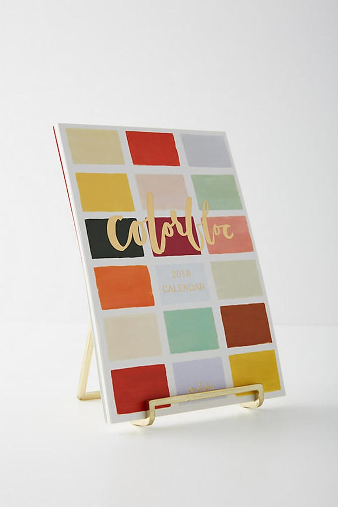 Our Heiday Colorbloc 2018 Desk Calendar