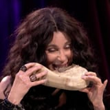 Cher Spill Your Guts or Fill Your Guts on James Corden Video
