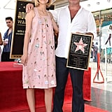 Grace VanderWaal and Simon Cowell