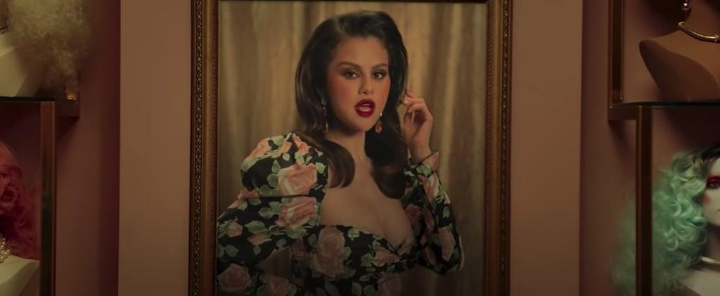 """Selena Gomez's Floral Minidresses in """"Selfish Love"""" Video"""