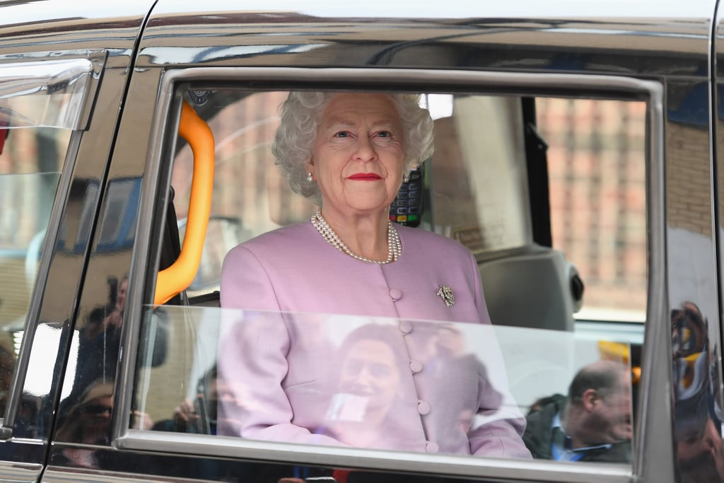This Nightmare-Inducing Wax Figure of Queen Elizabeth II Made an Appearance, Too