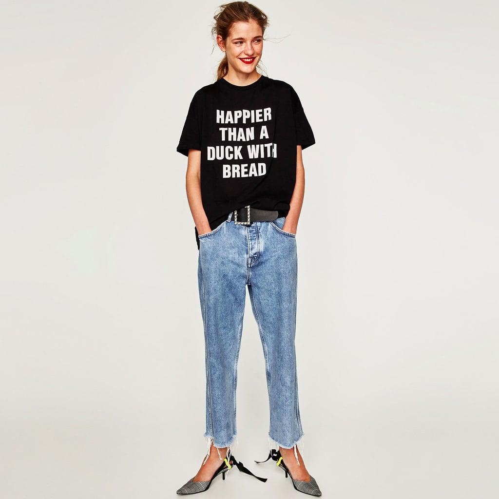 Zara black t shirt india - Zara Black T Shirt India 50