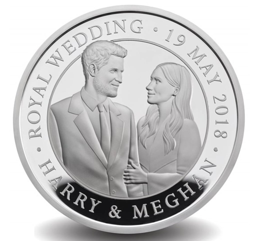 Prince Harry and Meghan Markle's Official Royal Wedding Coin