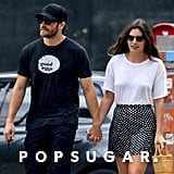 Alyssa Miller wore a Reformation skirt while holding hands with boyfriend Jake Gyllenhaal.