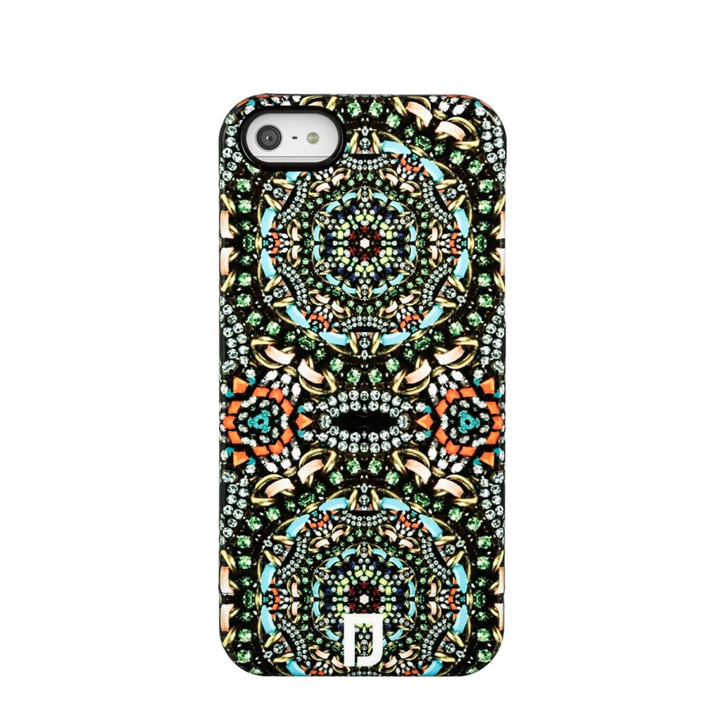 We can't help but be mesmerized by the intricate pattern on Dannijo's iPhone case ($98).