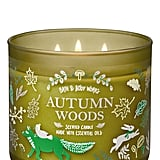 Bath and Body Works Autumn Woods 3-Wick Candle