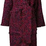 Lalo Belted Tweed Coat