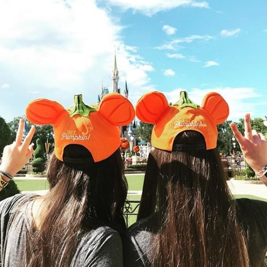 Disney Pumpkin Mickey Hats