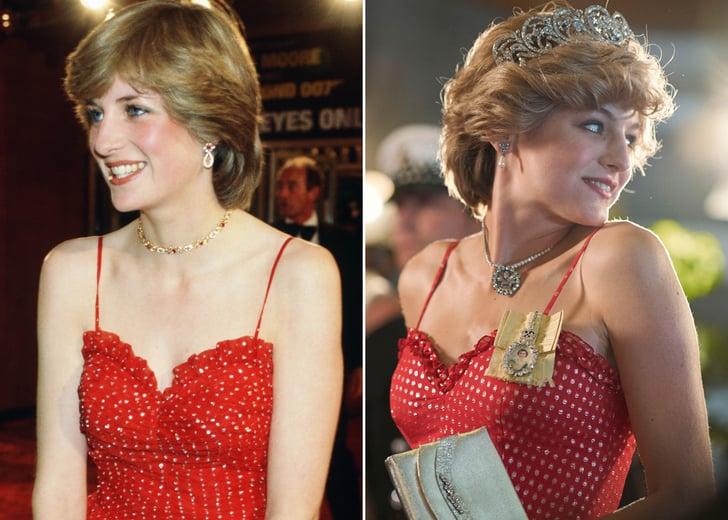 princess diana s outfits on the crown season 4 pictures popsugar fashion outfits on the crown season 4