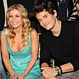 John Mayer sat next to Carmen Electra at a March 2008 Cosmopolitan party, held in NYC, honoring him as the Fun Fearless Male of the Year.