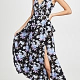 LES REVERIES Peplum Cami Dress