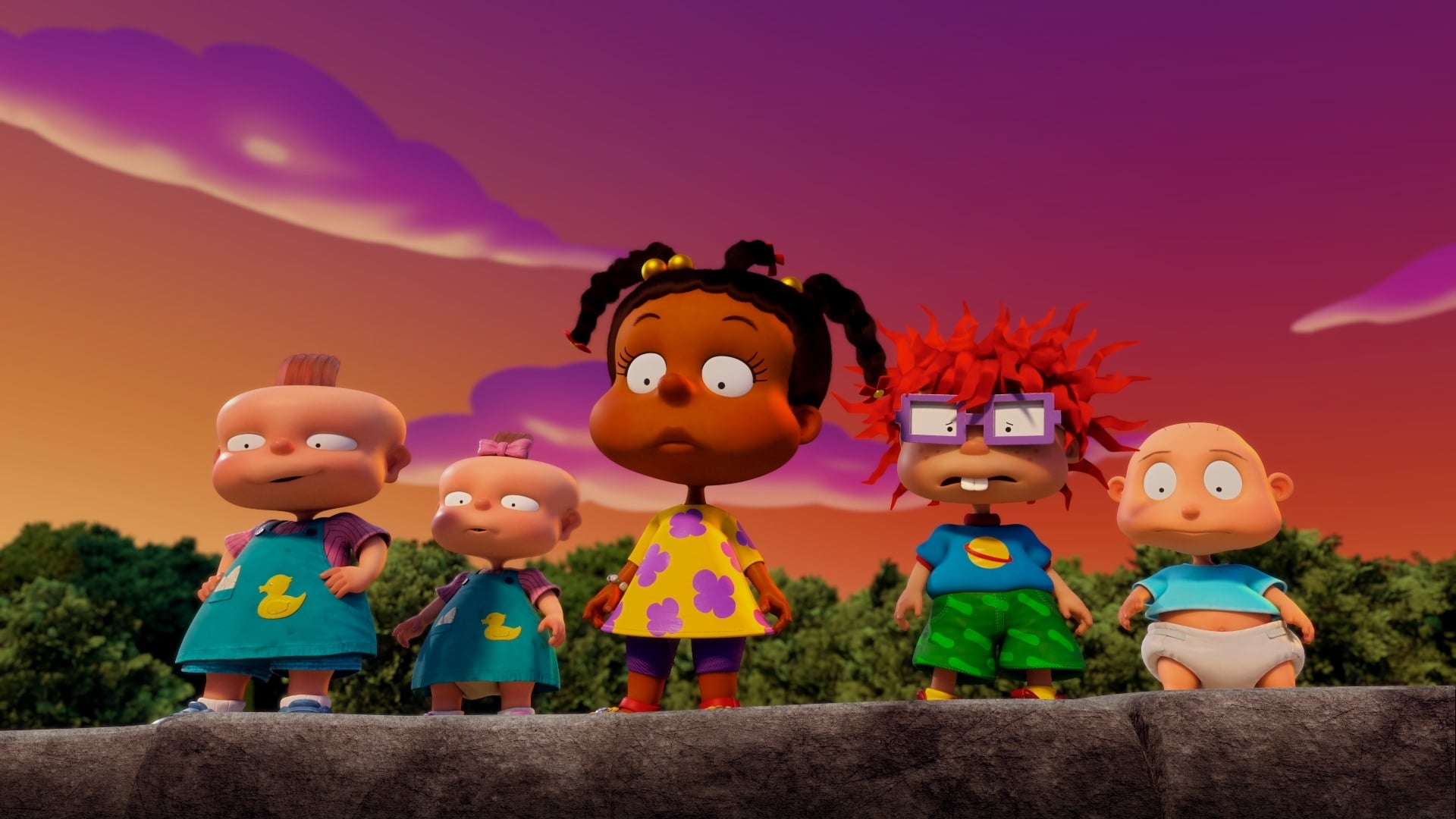 Pictured: The babies of the Paramount+ series RUGRATS. Photo Cr: Nickelodeon/Paramount+ ©2021, All Rights Reserved.