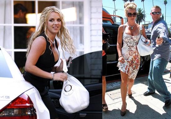 Photos of Britney Spears Leaving the Recording Studio in LA