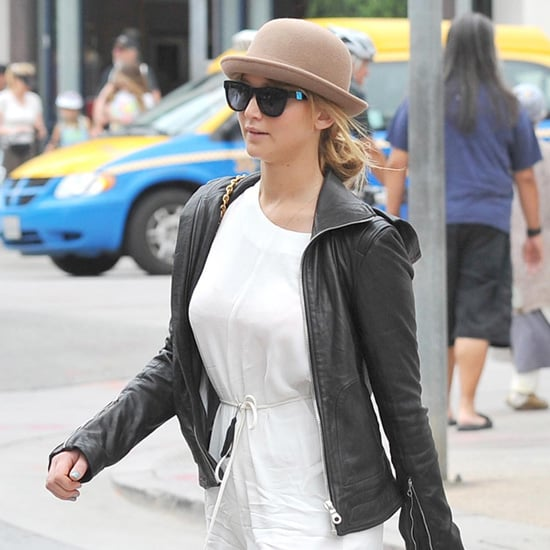 Jennifer Lawrence Bowler Hat