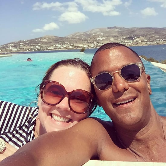 Melissa McCarthy and Yanic Truesdale in Greece Pictures 2017
