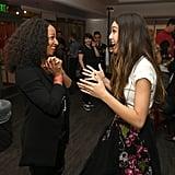 Pictured: Monique Coleman and Olivia Rodrigo