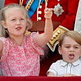 George Wasn't Afraid to Say How He Really Felt at the Trooping the Colour