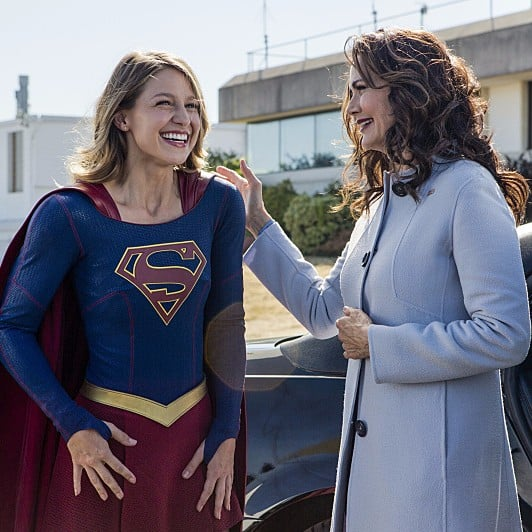 Lynda Carter on Supergirl Photos