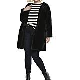 Wear It With: Faux Fur Coat in Jet Black