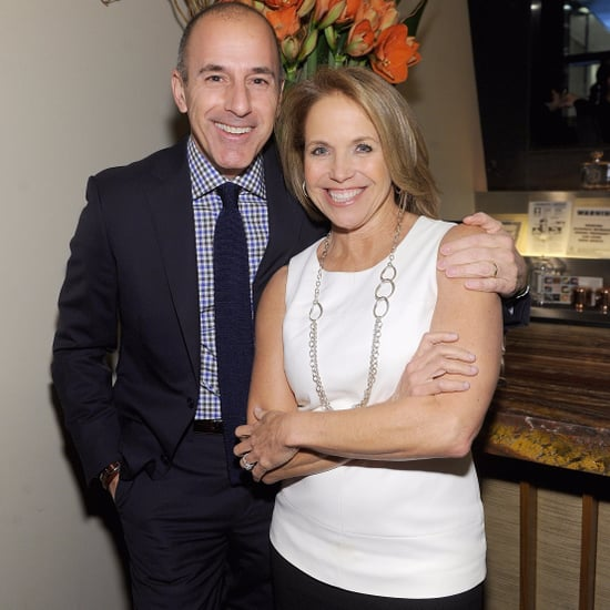 Katie Couric Reacts to Matt Lauer Firing on Today Show