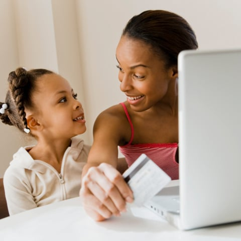 Giving Kids Credit Cards