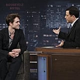 See Photos From Robert's Latest Appearance on Jimmy Kimmel!