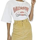 Simplee Apparel Corduroy Mini Skirt