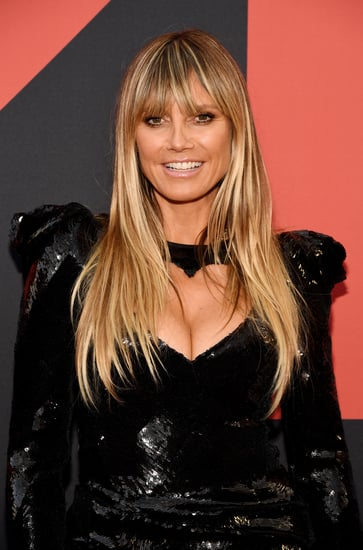 Heidi Klum's Red Nail Polish Color is a Fall Trend
