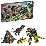 LEGO Jurassic World T. rex vs Dino-Mech Battle