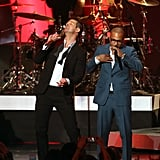Robin Thicke and T.I. performed.