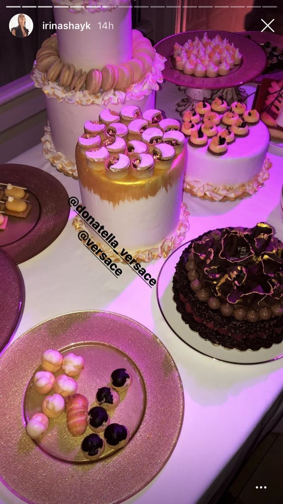 There Were Cakes and Cookies Galore (Thanks, Donatella!)