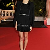 Karolina Kurkova partied in Cannes.