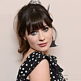 New Girl star Zooey Deschanel looked cute as she arrived at the Academy of Television Arts & Sciences' performers peer group cocktail reception at Universal City on August 20.