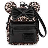 Belle Bronze Minnie Mouse Sequined Wristlet