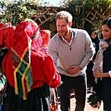 Prince Harry Meghan Markle Visit School on Morocco Tour 2019