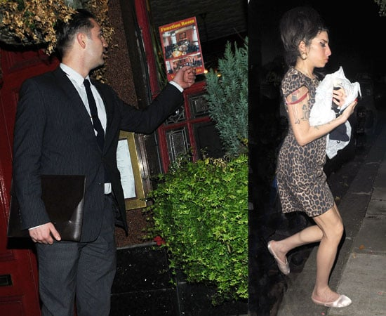 Pictures of Amy Winehouse and Red Traviss