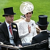 Kate Middleton Waving 2016