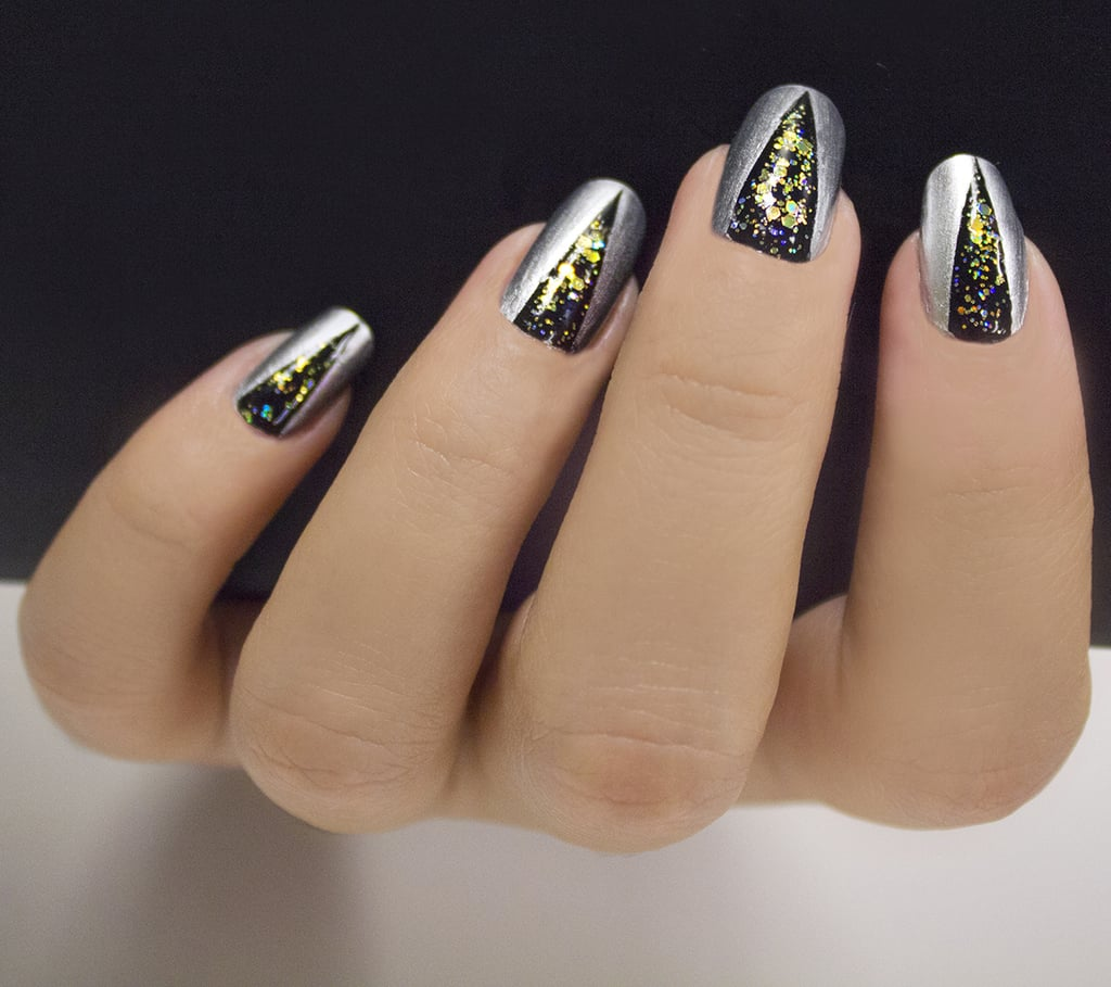 new year's eve nail art | popsugar beauty