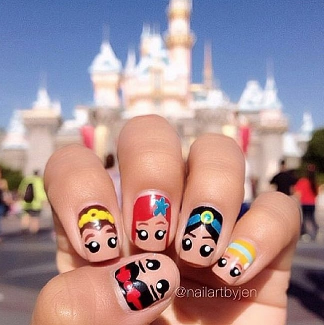Disney Nail Art Ideas | POPSUGAR Beauty