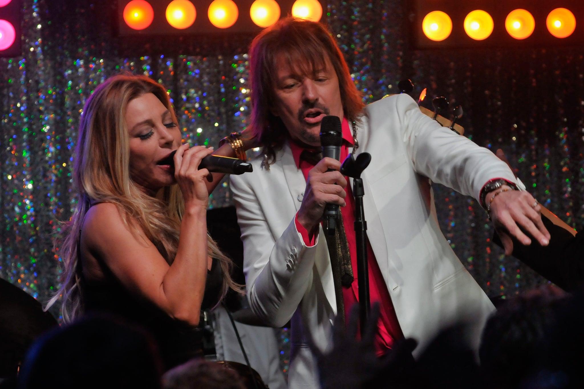 Taylor Dane and Richie Sambora rocked out at the Barnstable Brown Gala.