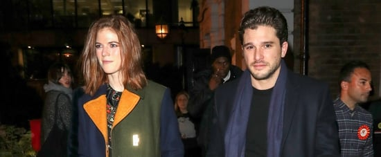Kit Harington and Rose Leslie in London Pictures