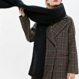 UO Plush Teddy Oversized Scarf