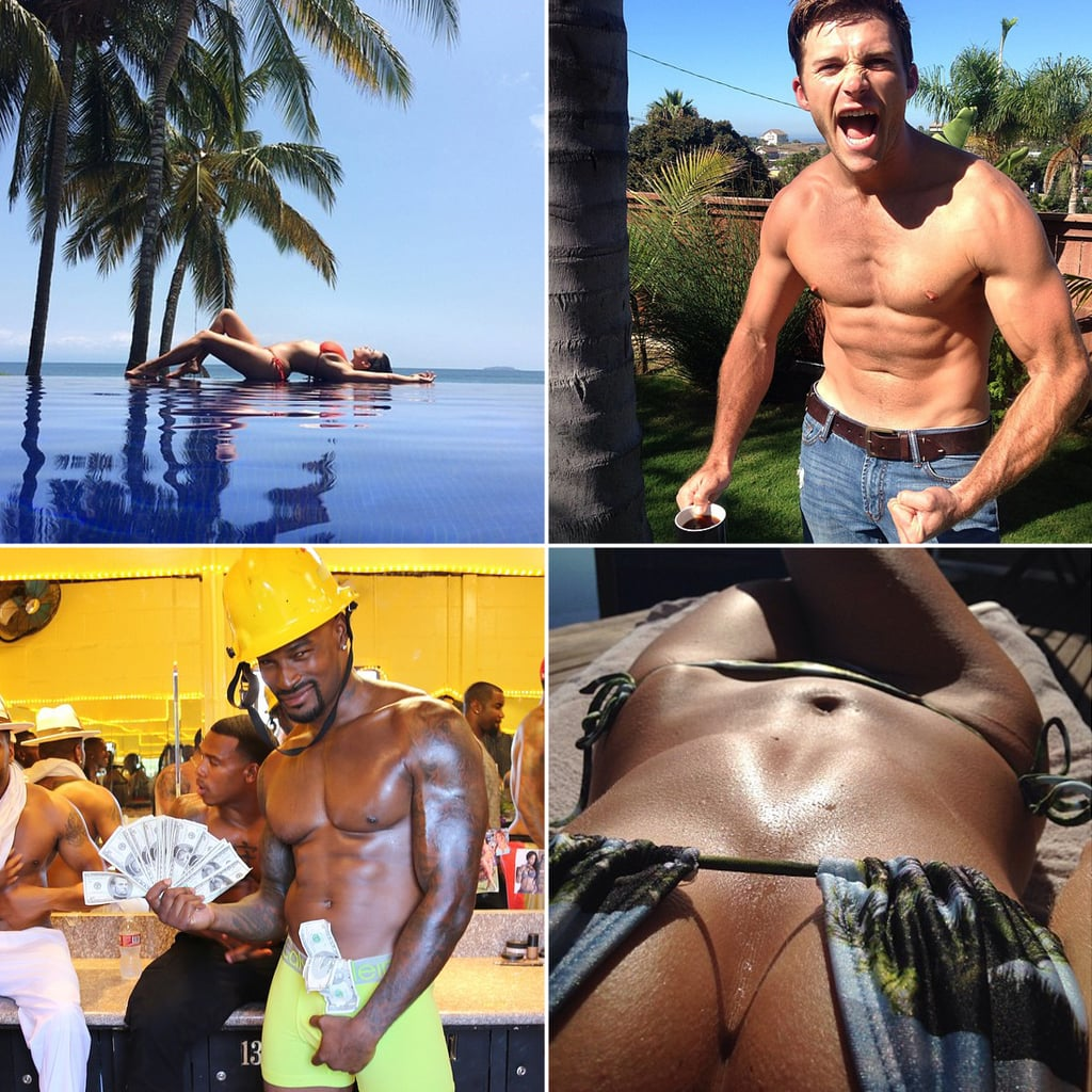 Sexiest Celebrity Instagram Pictures of 2014