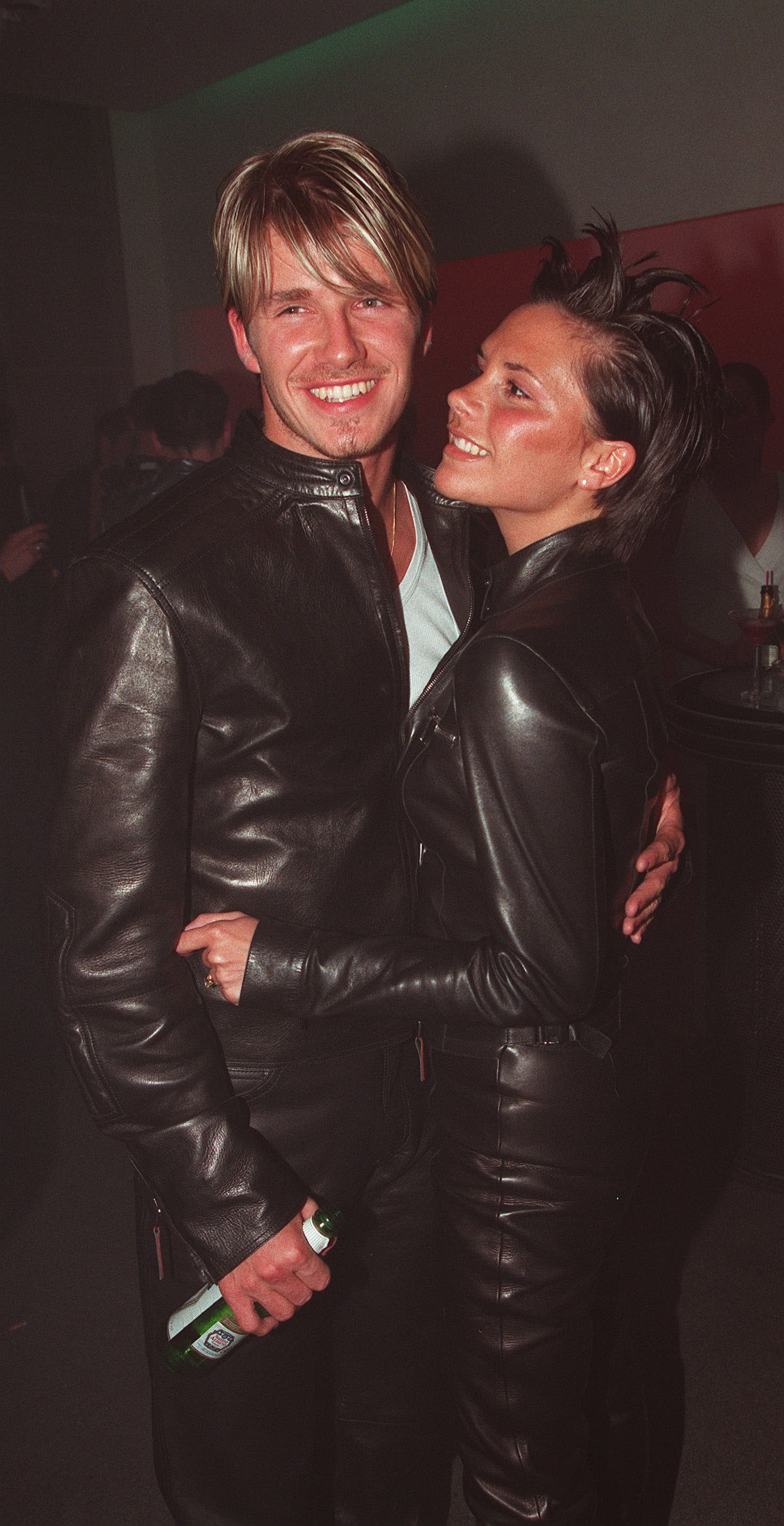 Victoria only had eyes for David during a June 1999 night out in London.