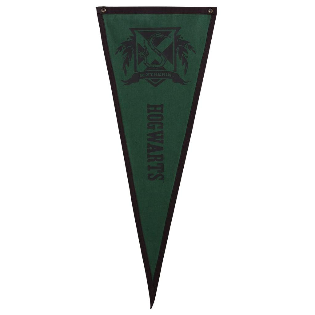 Slytherin Hogwarts Pennant ($25)
