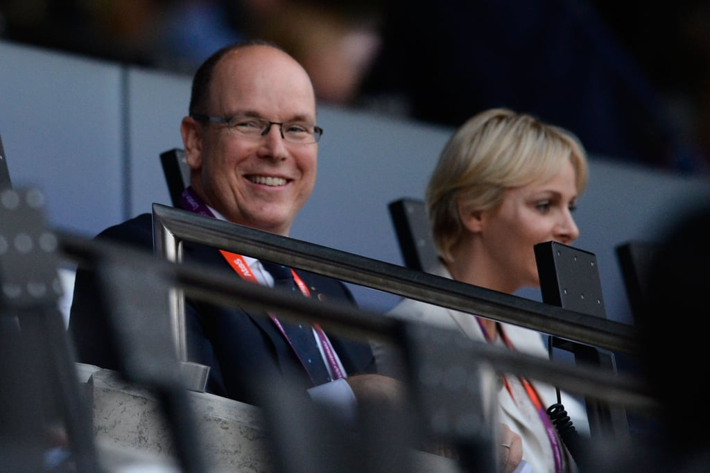 Prince Albert II of Monaco and Princess Charlene of Monaco arrived at the opening ceremony.