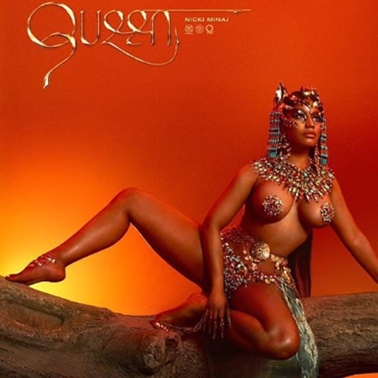 Nicki Minaj Wears Pat McGrath Products on Queen Album Cover