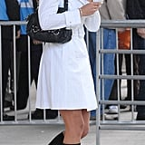 Kate Middleton's White Trench Dress at the Concert for Diana at Wembley Stadium, July 2007