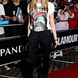 Cara Delevingne at the 2013 Glamour Women of the Year awards.