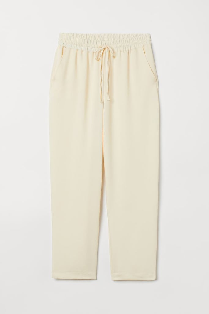 Pull-on Lyocell-blend Pants